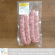 "Saucisses ""nature"" par 4 (env. 300g)"