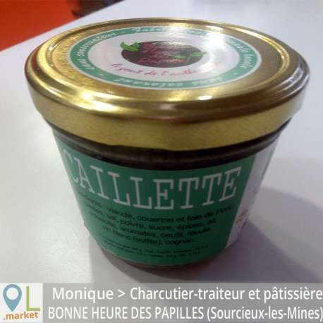 Caillette (conserve de 170 g)
