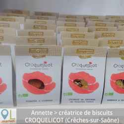 Petits biscuits à croquer et partager salés BIO (sachet de 90 g )