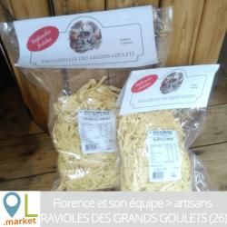 Pâtes fraîches Tagliatelles (sachet de 500g ou 1kg)