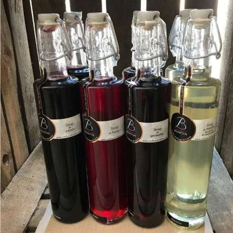 Les Sirops de Philippe (bouteille 50 Cl)
