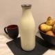 Lait Cru BIO de Vache (bouteille en verre 1 litre)
