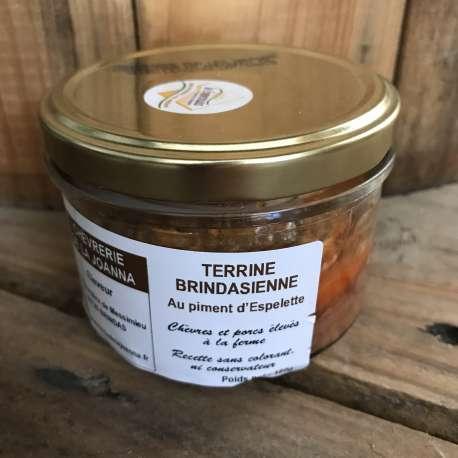 Terrine Brindasienne au piment d'Espelette (180 g)