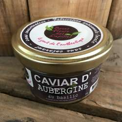 Caviar d'aubergine au basilic (85 g)