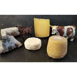 """Les """"Bonheurs"""" de Sophie (lot surprise de fromages BIO)"""