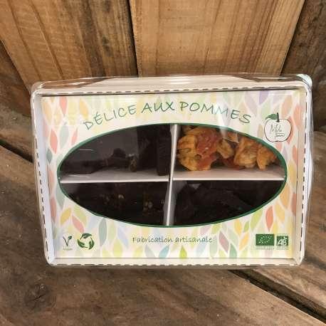 Boîte assortiment pâte de pomme et courge confite BIO (140g)