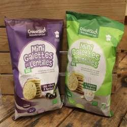 Mini galettes de Lentilles bio