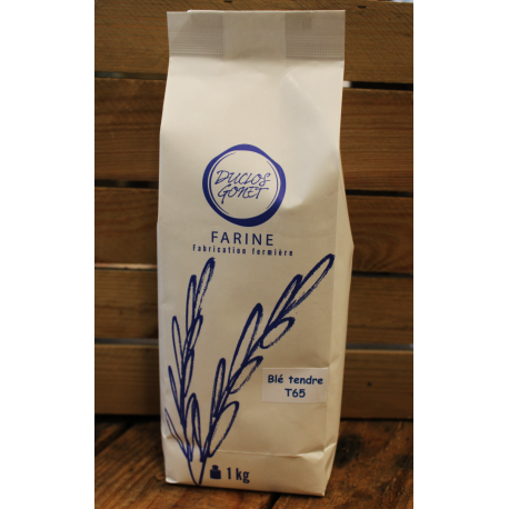 Farine de blé tendre BIO
