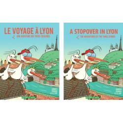 Le voyage à Lyon – BD pour enfant