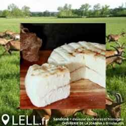 Palet frais chèvre à la figue (env. 120g)