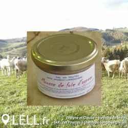 Mousse de foie d'agneau (90 gr)