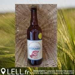 Bière de terroir BUSARD Blanche 75cl