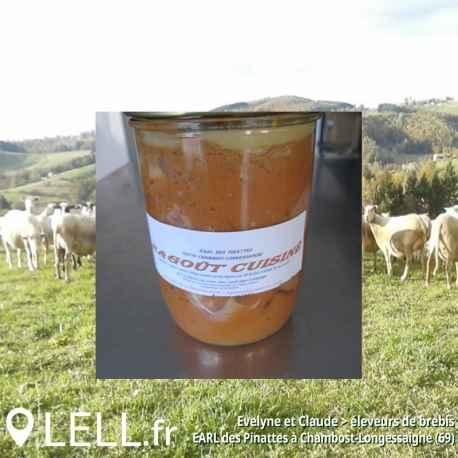 Ragoût d'agneau (780 gr)