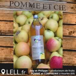 Jus de pomme Coing (1 litre)